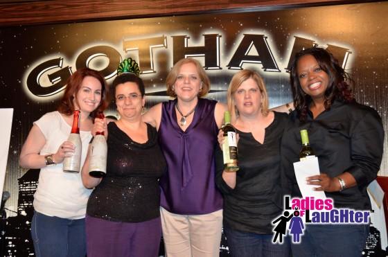 2014 Ladies of Laughter Winners & Runners-up