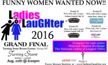 2016 Ladies of Laughter Contest