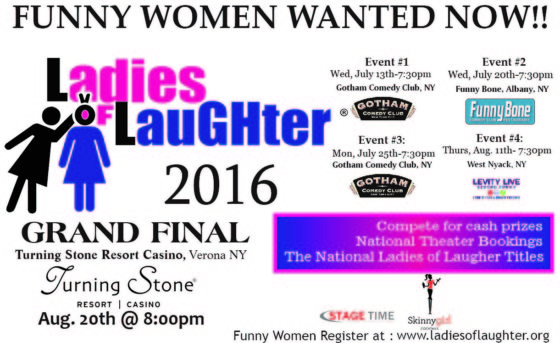 2016 Ladies of Laughter Contest