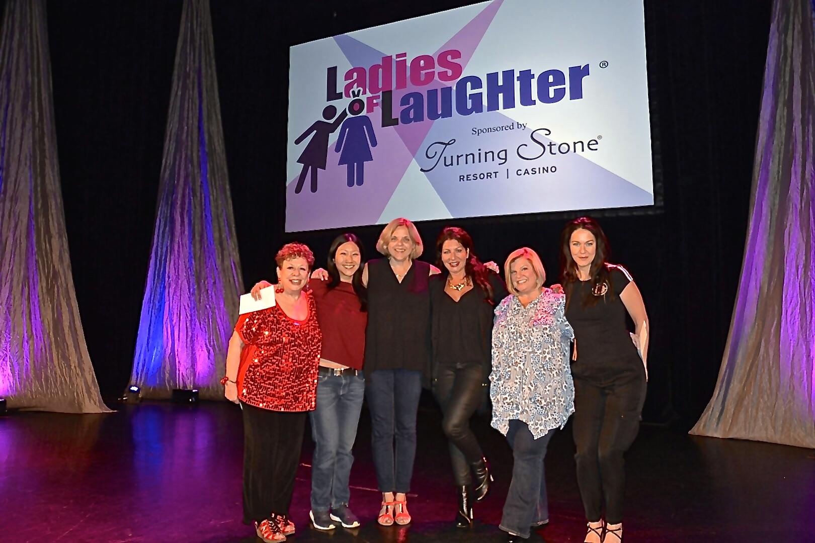 2016 Ladies of Laughter Winners